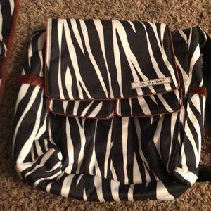 Ju Ju Be crossbody diaper bag new